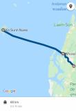 Traversée vers les îles Surin