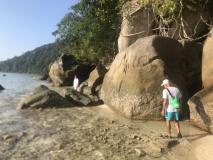 Balade sur l'île