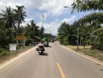 la route vers Chumphon