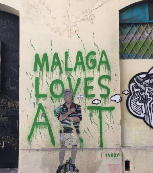 le street-art dans le Soho de Malaga