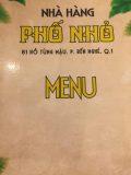 Restaurant Pho Nho