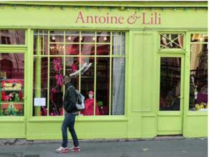 boutiques de paris-antoine&Lili