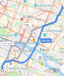 balades à Paris-Saintgermaindes prés