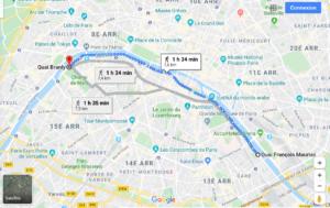 balades à paris-quai de seine